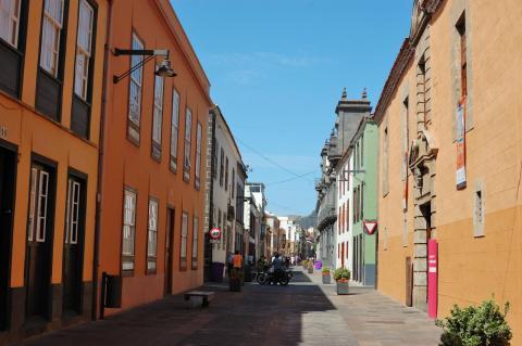 Calle San Agustín, San Cristóbal de La Laguna.