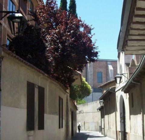 Calle Santo Domingo de Guzmán, Valladolid.