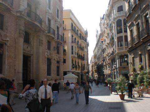 Calle Trapería, Murcia.