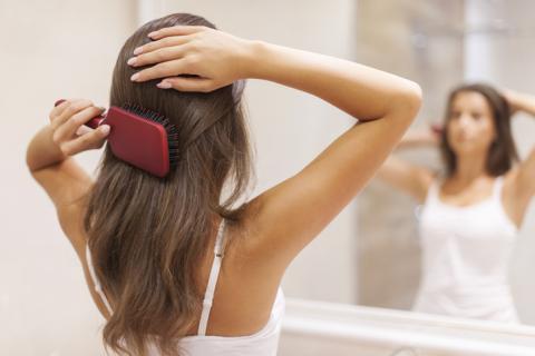 Cepillo de pelo.