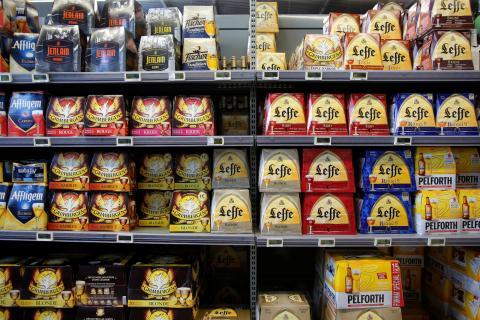 cervezas en supermercado