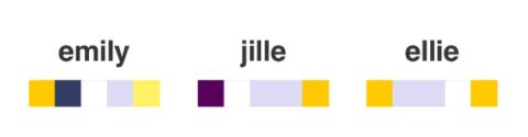 ¿De qué color es tu nombre?