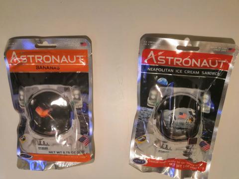 Comida deshidratada para astronautas