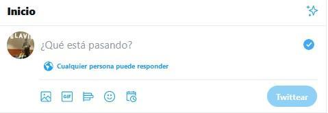 Configurar respuestas de Twitter