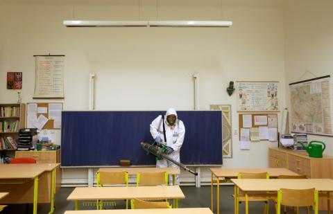Coronavirus en el colegio, higiene en las aulas