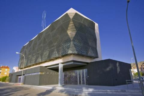 Cuartel de la policía local y protección civil, Alhama, Murcia.