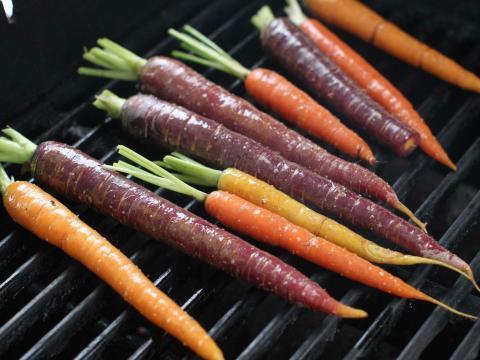 Las zanahorias son mejores cuando se compran frescas.