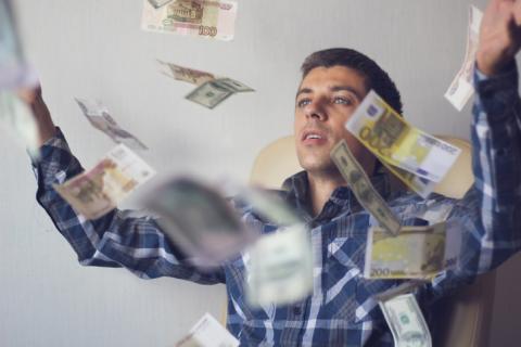 Dinero, euros,