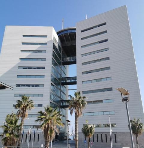 Edificio V Centenario, Melilla.