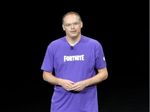 El cofundador de Epic Games, Tim Sweeney.