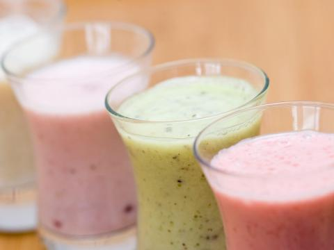 Frozen smoothie mixes can have added sugar you may not be expecting.