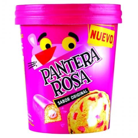 Helado Pantera Rosa
