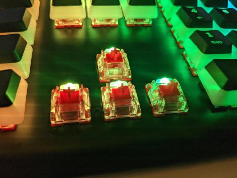 HyperX Alloy Elite 2 switches