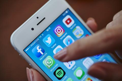 Iconos de apps con WhatsApp