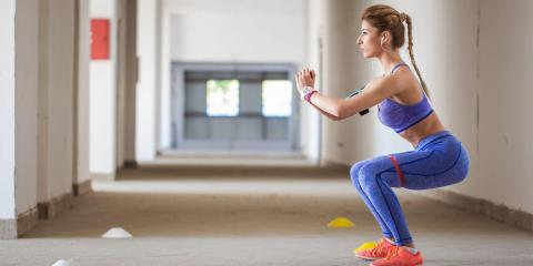 It's important to master the basic squat to effectively gain health benefits. South_agency/Getty Images