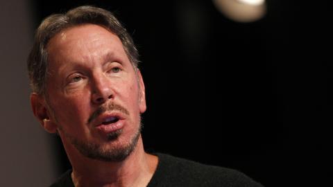 Larry Ellison, fundador de Oracle, en 2012.