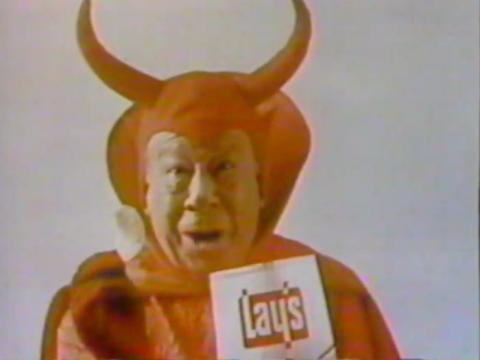 Bert Lahr, que interpretó al personaje de la película, apareció en varios anuncios.