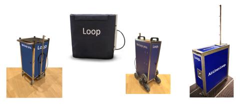 Los 4 dispositivos de Loop.