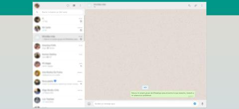 Mandate mensajes a ti mismo en WhatsApp