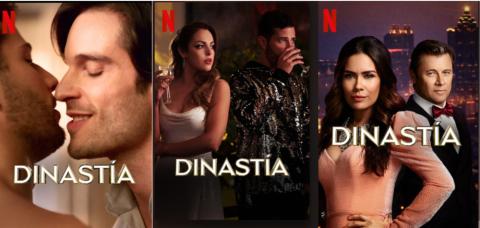 Misma serie diferentes carátulas Netflix