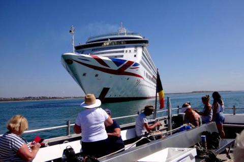 Mudeford Ferry es la empresa que ha ideado los 'tours de cruceros fantasmas'.