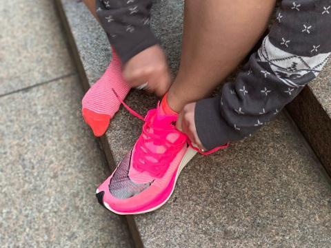 Zapatillas Nike Vaporfly.