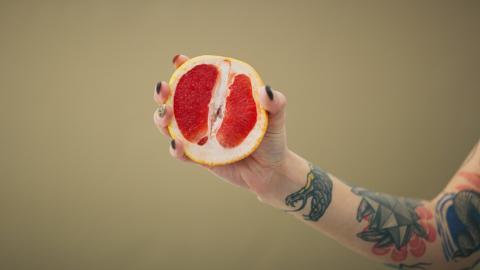Pomelo fruta
