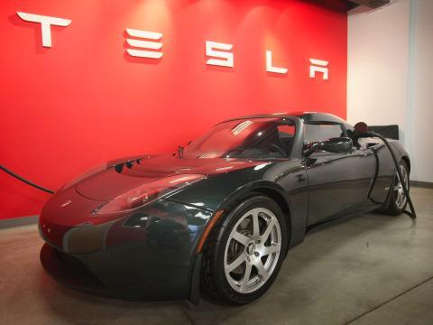 Tesla Roadster Scott Olson/Getty Images