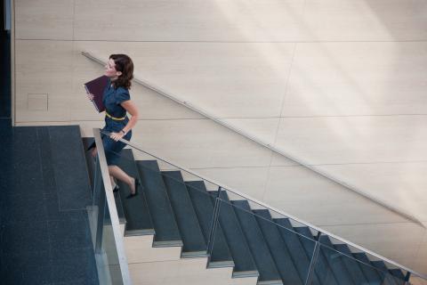 Toma las escaleras siempre que puedas.
