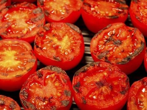 Los tomates son delicados.