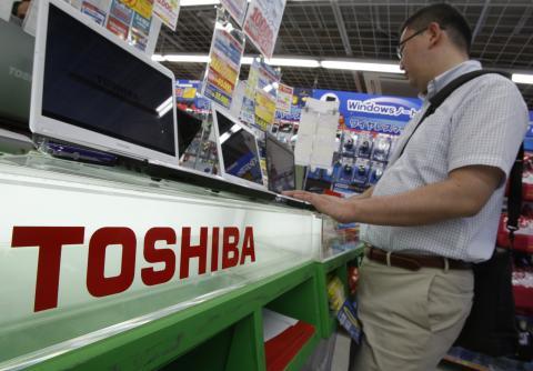 Toshiba sale por completo del negocio de los portátiles