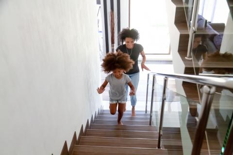 Usa las escaleras siempre que puedas.
