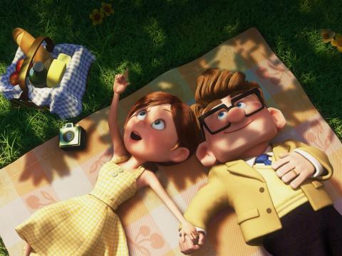 La devastadora historia de amor de Carl y Ellie podría hacer llorar a cualquiera.