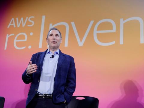 Andy Jassy, CEO de AWS.