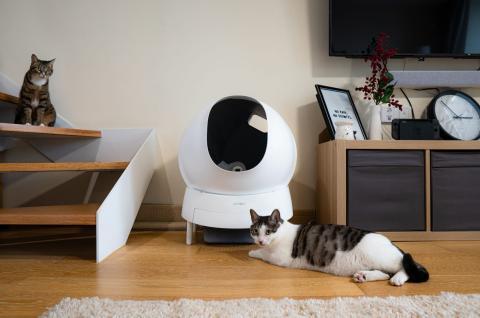 Arenero automático para gatos Aimicat