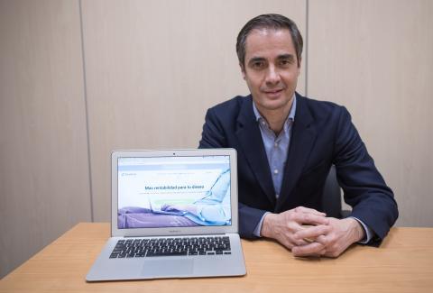 Asier Uribeechebarría, CEO de Finanbest