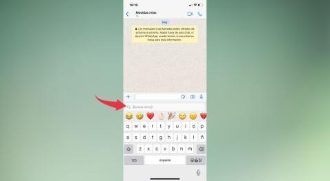 buscador de emojis iOS 14