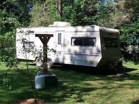 The camper. Courtesy of Aimee Nelson