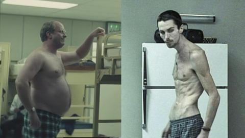 Christian Bale ganó casi 20 kilos para encarnar a Dick Cheney en 'El vicio del poder' y perdió 30 para interpretar 'El maquinista'