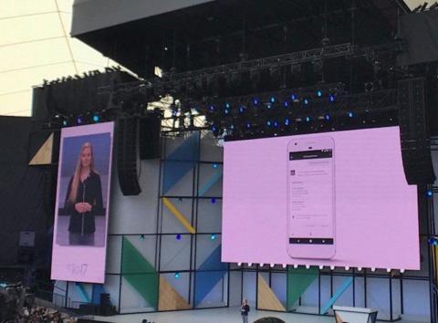 La conferencia de Google de 2017.
