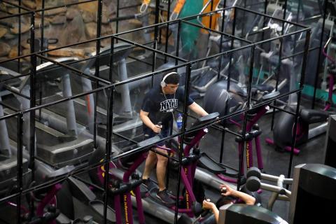Cosas que no hacer en un gimnasio