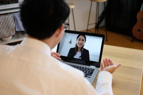 entrevista online, videollamda