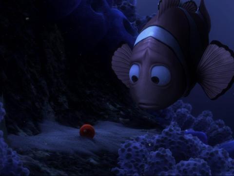Al igual que 'Up', 'Buscando a Nemo' comienza con una escena devastadora.