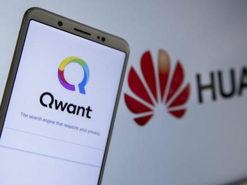 El servicio francés era el motor de búsqueda predeterminado en los dispositivos Huawei P40 en Europa.