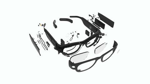 Las gafas del 'Project Aria' de Facebook.