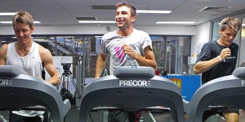 Hacer ejercicio.