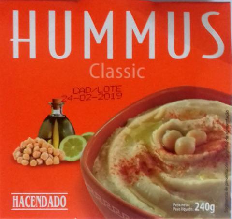 Hummus de Mercadona