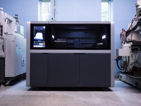 Una impresora 3D de Desktop Metal.