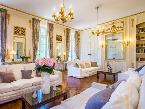 Interior de la propiedad.
