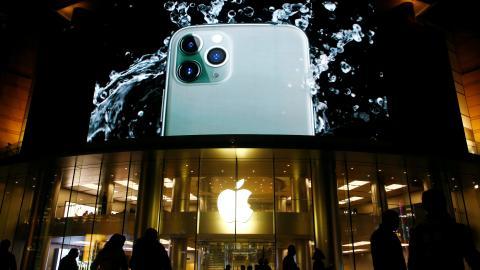 iPhone agua.